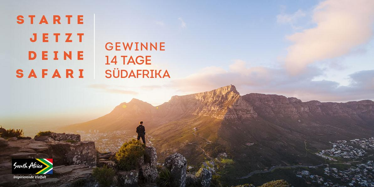 Gewinne 14 Tage Südafrika