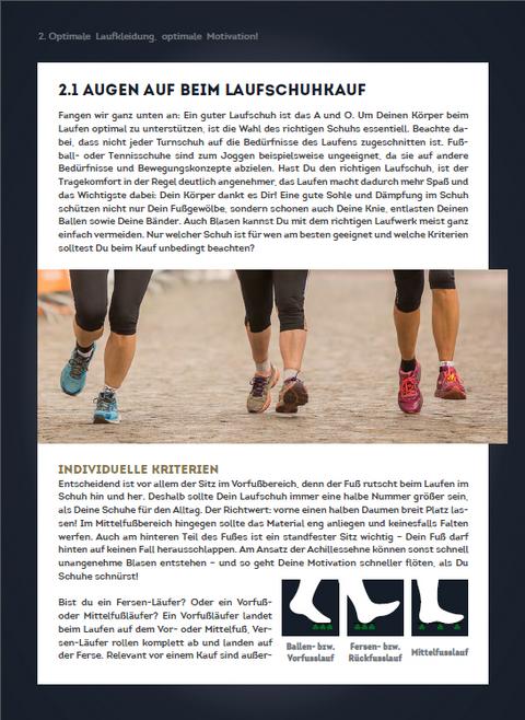 Auszug 2 aus dem Laufen Ebook von SportScheck.