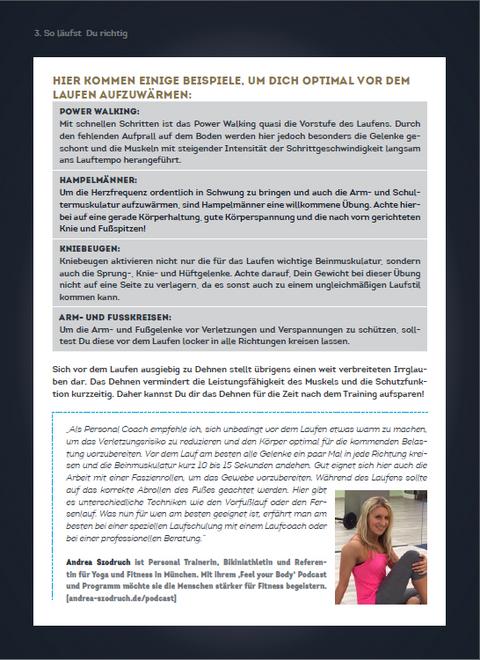 Auszug 3 aus dem Laufen Ebook von SportScheck.