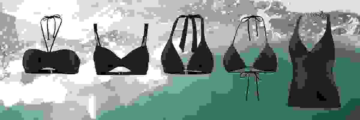 Verschiedene Bikini-Typen