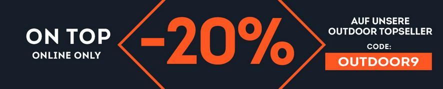 -20% auf Outdoor Topseller