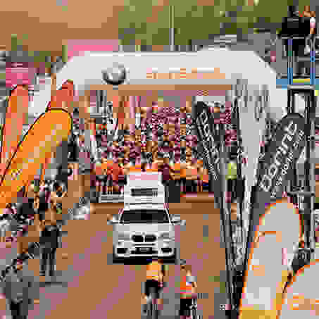 Der SportScheck Stadtlauf in Chemnitz kurz vor dem Start.