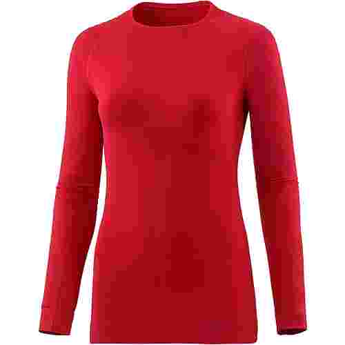 Falke Skishirt Damen scarlet