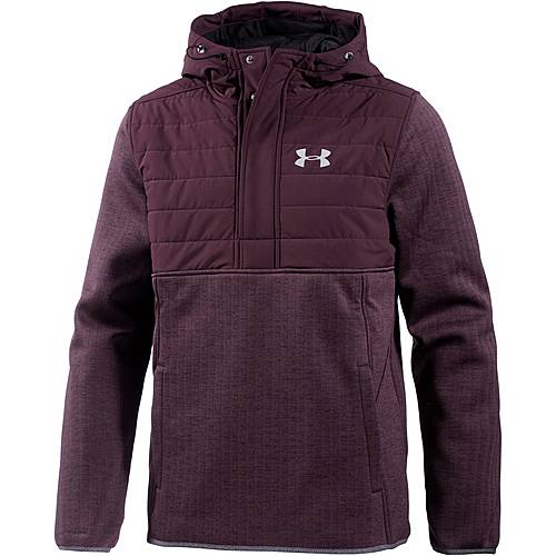 Under Armour ColdGear Swacket Funktionssweatshirt Herren RAISIN RED / RAISIN RED / REFLECTIVE