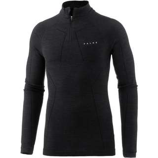 Falke WOOL-TECH Funktionsshirt Herren black