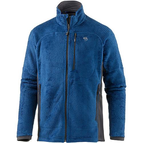 Mountain Hardwear Monkey Grid II Fleecejacke Herren nightfall blue/shark