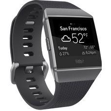 FitBit Ionic Smartwatch charcoal-smoke gray