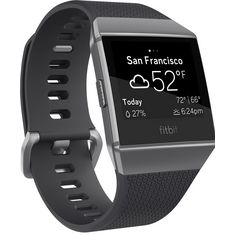 FitBit Ionic Smartwatch charcoal-smoke gray