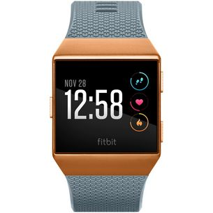 FitBit Ionic Smartwatch slate blue-burnt orange