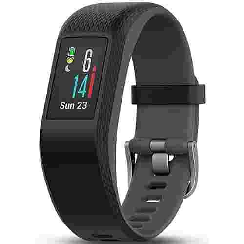 Garmin Vivosport Fitness Tracker schwarz/grau