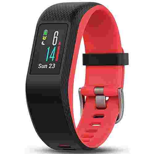 Garmin Vivosport Fitness Tracker schwarz/rot