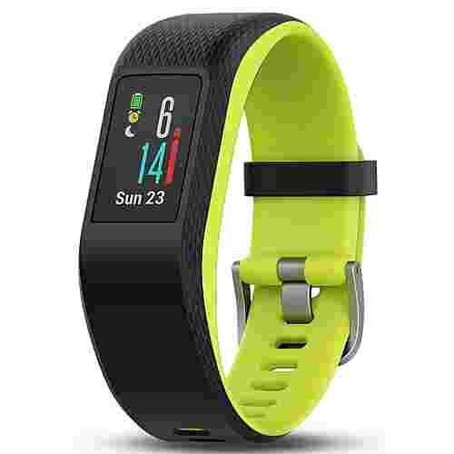 Garmin Vivosport Fitness Tracker schwarz/grün
