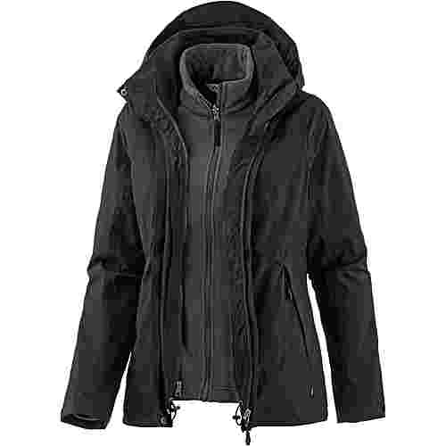 VAUDE Kintail 3in1 Outdoorjacke Damen black