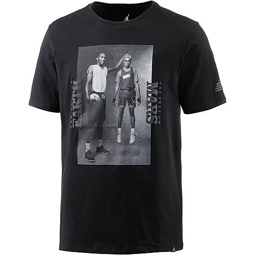 Nike M JSW TEE MARS BLK PHOTO T-Shirt Herren black