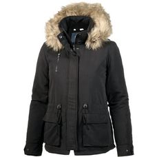 Only Parka Damen black