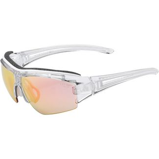 adidas Evil Eye Halfrim Sportbrille Crystal Shiny/VARIO Purple Mirror