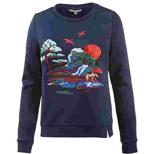 TOM TAILOR Sweatshirt Damen real navy blue