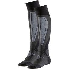 Rohner Basic Skisocken schwarz-grau