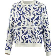 DEDICATED Sweatshirt Damen Off-White