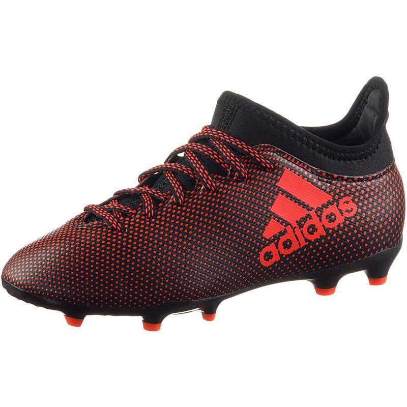 check out 588b2 abf6f adidas X 17.3 FG J Fußballschuhe Kinder core black
