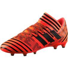 adidas NEMEZIZ 17.3 FG J Fußballschuhe Kinder solar orange