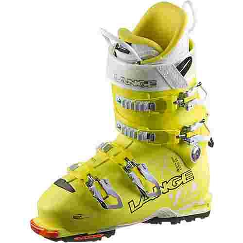 LANGE XT 110 LV Freetour Skischuhe Damen lemon