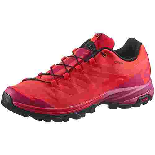 Salomon OUTpath Wanderschuhe Damen poppy red sangria black