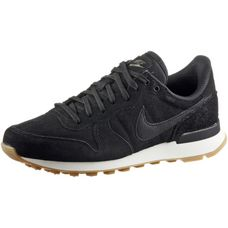 Nike INTERNATIONALIST Sneaker Damen black-black-deep green-gum light brown