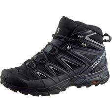 Salomon X ULTRA 3 MID GTX Wanderschuhe Herren black-india ink-monument