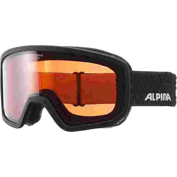 ALPINA Scarabeo QH Skibrille black matt