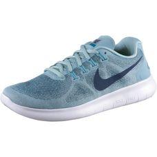 Nike Free RN 2 Laufschuhe Damen ocean-bliss-navy-glacier-blue-noise-aqua