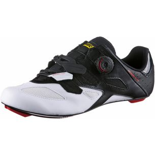 Mavic Cosmic Elite Fahrradschuhe Herren black/white/fiery red