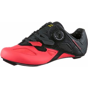 Mavic Sequence Fahrradschuhe Damen pirate black-fiery coral