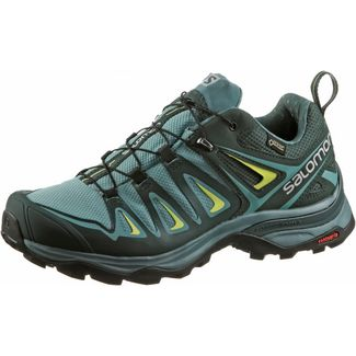 Salomon X ULTRA 3 GTX® Multifunktionsschuhe Damen artic-darkest spruce-snny lime