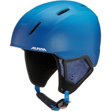 ALPINA CARAT XT Skihelm Kinder blue-gradient matt