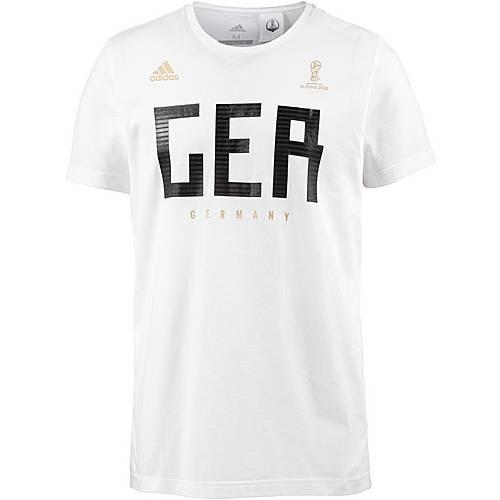 adidas Deutschland WM 2018 Fanshirt Herren white