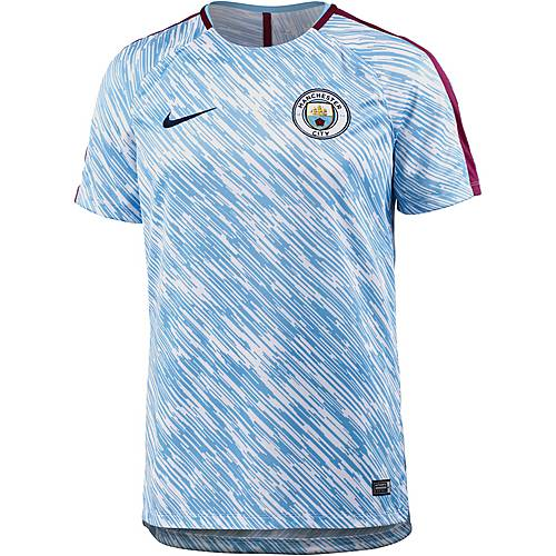 Nike Manchester City Funktionsshirt Herren field blue-true berry-midnight navy