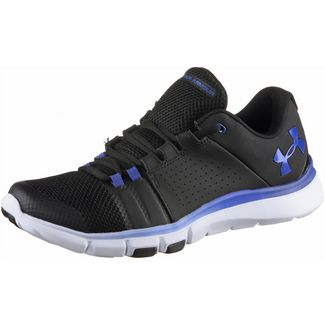 Under Armour Strive 7 Fitnessschuhe Herren black-jupiter blue-jupiter blue