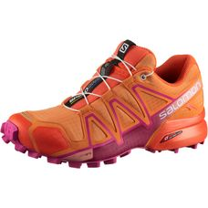 Salomon SPEEDCROSS 4 W Laufschuhe Damen bird-of-paradise-nasturtium-pink-yarrow