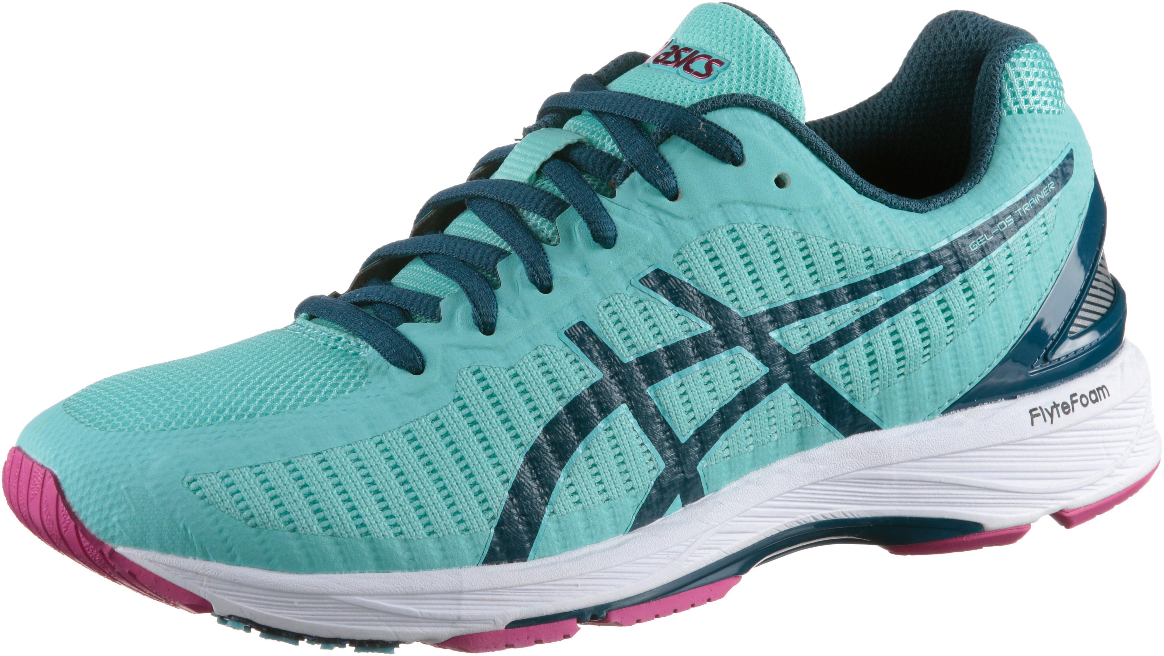 ASICS GEL-DS TRAINER 23 Laufschuhe Damen aruba blue-ink blue-fuchsia purple  im Online Shop von SportScheck kaufen