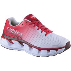 Hoka One One Elevon Laufschuhe Damen white-cherries-jubilee