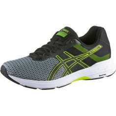 ASICS GEL-PHOENIX 9 Laufschuhe Herren stone grey-black-safety yellow