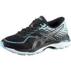 ASICS GEL-CUMULUS 19 Laufschuhe Damen black-porcelain blue-white