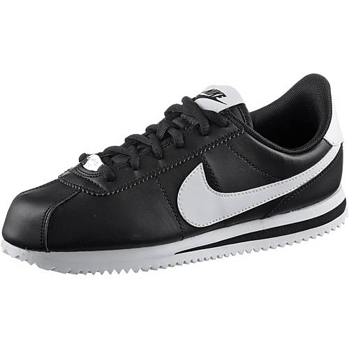 Nike Cortez Sneaker Kinder black-white