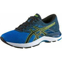 ASICS GEL-FLUX 5 Laufschuhe Herren directoire blue-black-safety yellow