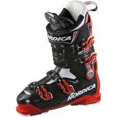 Nordica Sportmaschine 130 Skischuhe rot-schwarz-weiß