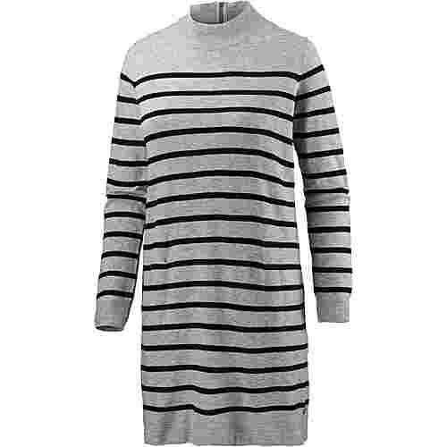 TOM TAILOR Strickkleid Damen grey-white