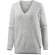 TOM TAILOR V-Pullover Damen marble beige melange
