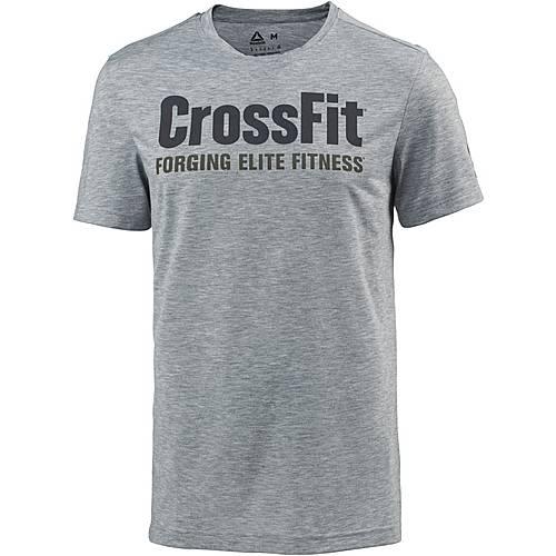 Reebok Crossfit Speed Funktionsshirt Herren medium-grey-heather
