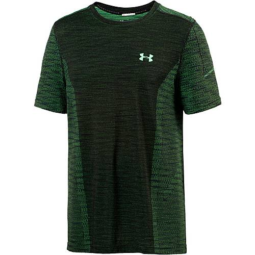 Under Armour HeatGear Threadborne Seamless Funktionsshirt Herren arena-green-arena-green